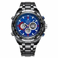 Globenfeld Super Sport 2.0 Mens Watch - Chronograph Quartz, Analogue/Digital Display - Limited Edition - Classic Minimalist Simple Design - Scratch Resistant Glass - 5 Year Warranty, 60 Days Return