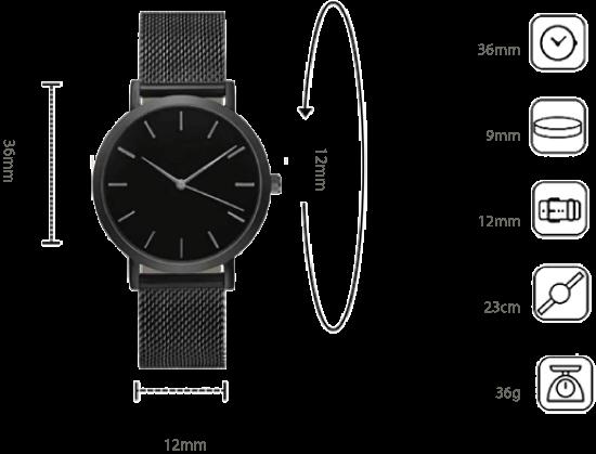 Misure dell'orologio Style Watch